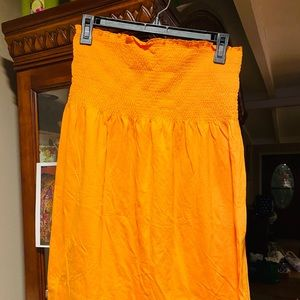 Old Navy Strapless Dress /Coverup EUC NWOT SZ SM